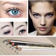 1PC Brand New Makeup Tool Kit Cheap 4 Color Waterproof Long-lasting White Silver Black Glitter Eyeliner Pencil Pen delineador