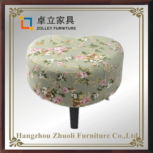 High quality low stool fabric ottoman chairs wholesale fabric cheap foot stool