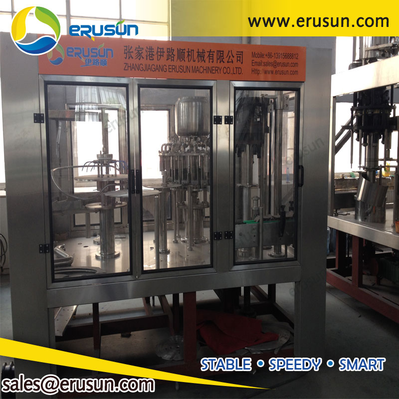 8000bph Small Bottle Juice Filling Machine