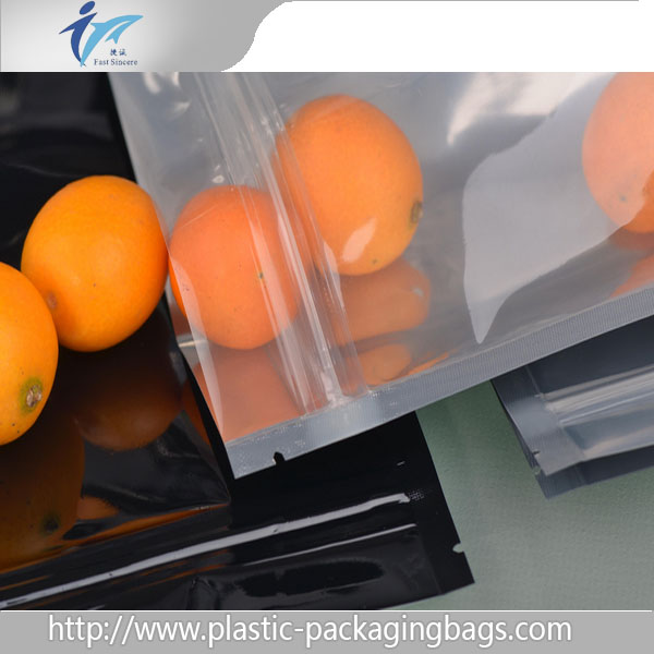 2016 printed plastic fresh fruit/snack food storage stand up pouch bags with ziplock