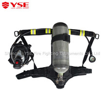Self-contained Msa/Scott carbon fiber breathing apparatus
