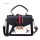 Female 2018 handheld small bag broadband collision oblique slant single-shoulder bag new bags
