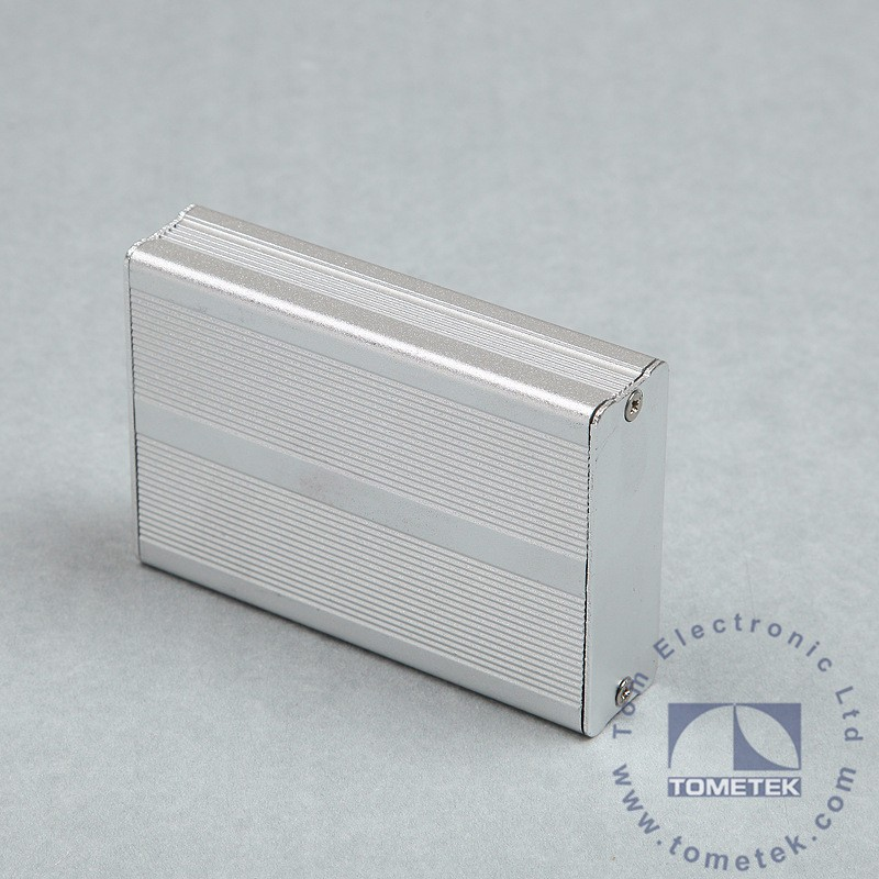IP54 OEM Brushed Aluminum Extrusion PCB Housing Box