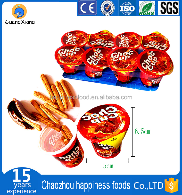 high quality chocolate stick biscuit for export to arabic south america indian