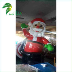 OME Accepted Popular 20ft Christmas Outdoor Inflatable Sitting Santa