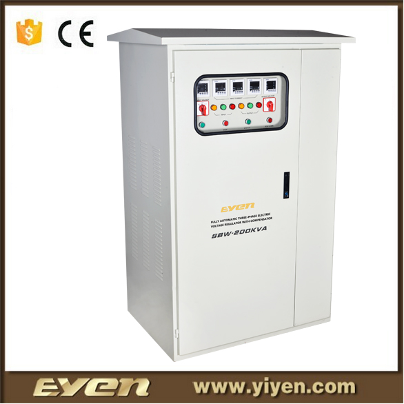 factory price servo three phase vertical voltage stabilizer