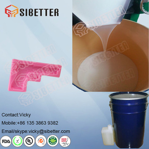 RTV2 Liquid Silicone Rubber Raw Material for Silicone Toys Mold