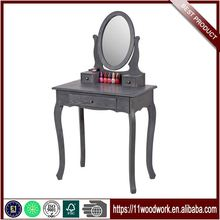Best Price Wholesale Bedroom Wooden Dressing Table With Mirror