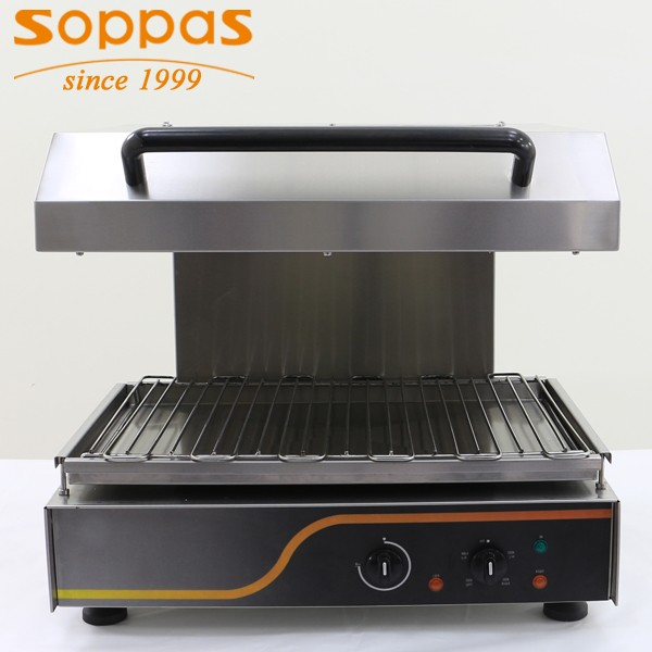 soppas professional restaurant equipment adjustable electric infrared salamander