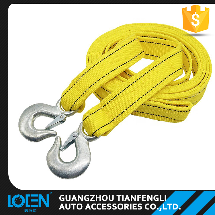LOCEN Automobiles accessories auto car emergency tools elastic tow rope