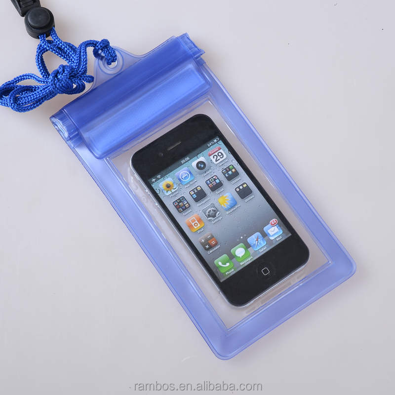 Waterproof Case Pouch Cell Phone Dry Bag Cases Cover for iPhone 6S 5SE with Neck Strap