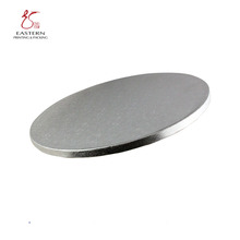 Custom Round Square Corrugated Cake Board / Cake Tray Pulp Moulding Paper