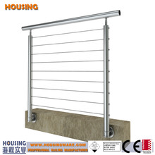 cable rail_low price stainless steel cable railings_wire deck railing