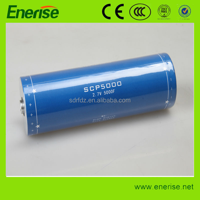 Weldable Ultracapacitor 2.7V 5000F Super capacitor/Supercapacitor/Ultra capacitor/Farad Capacitor