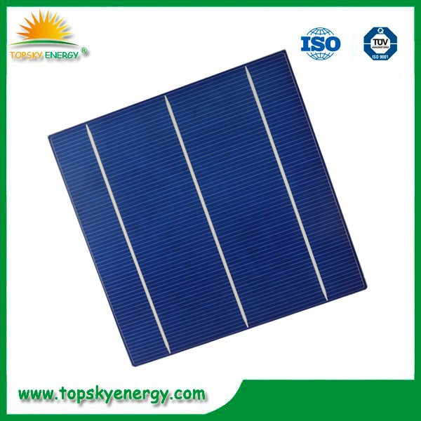 Hot Sell 156x156 Polycrystalline Pv Solar Cell High