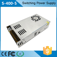 DC5v power supply 80a 400W S-400-5 5v switching power supply 5V 80A 400W Led display switching power supply