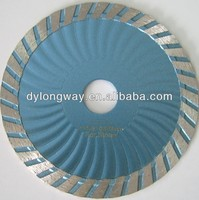 "105mm cold press turbo wave 4""diamond saw blade marble stone cutting diamond blades concrete electric concrete saw for granite"