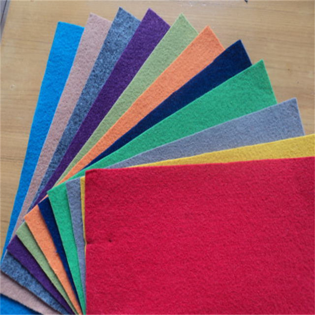 100% Polyester plain exhibition carpet for floor and events