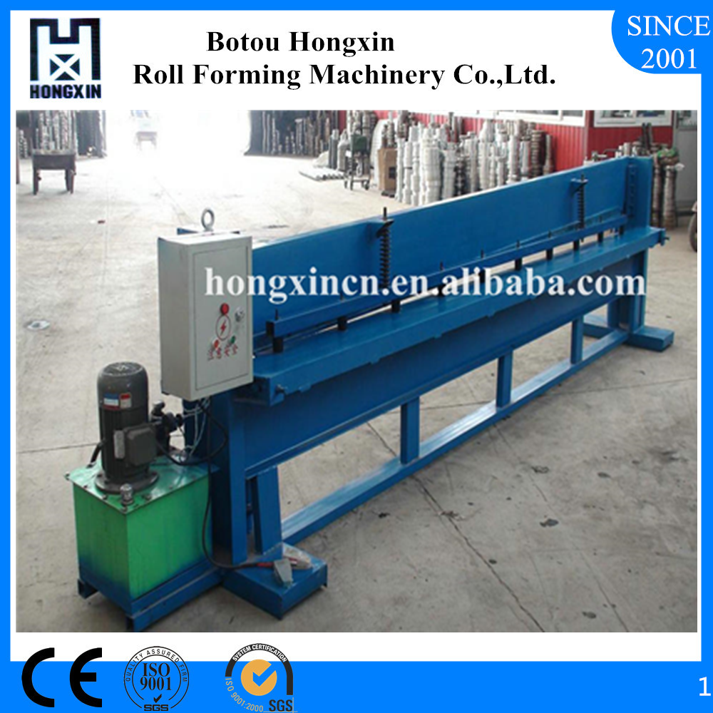 China Aluminum Profile Galvanized Plate Roof Sheet Cutting Machine Supplier