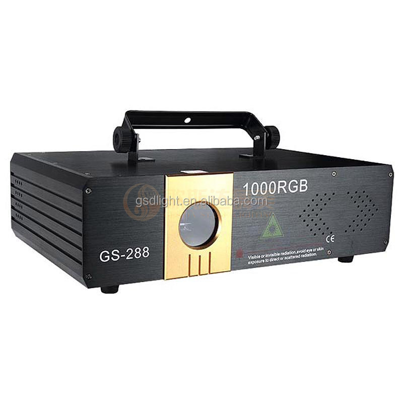 1200mW Full Color Rgb Laser Light Stage Laser Projector
