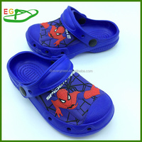 2015 Newest Kid Clogs EVA Clogs EGA0328-07 Spider men Royal Blue
