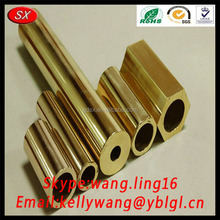 ISO2001 RoHS Pass Custom Hollow Brass Bar/Thread M8 Screw Long Bar