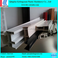 pvc window and door profile extrusion line manufacture