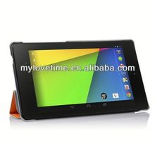 artificial leather case for google tablet