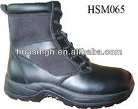 WH,UK royal troop equipment high quality 8 inch 2013 new version police boots
