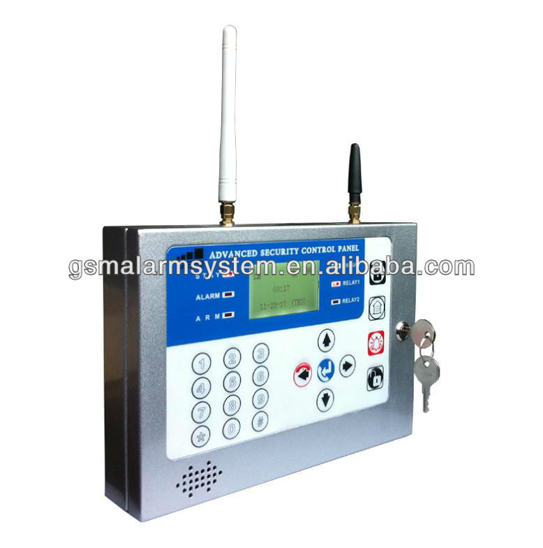 TOP Quality house burglar GSM alarm panel for family security