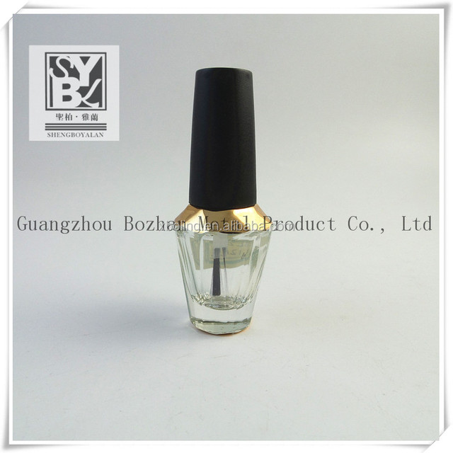 15ml hexagonal empty nail polish bottle with brush