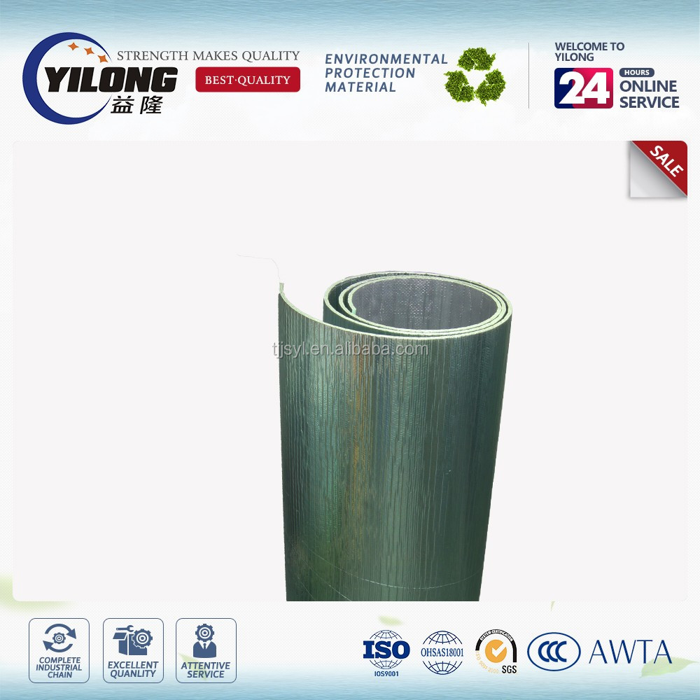 reflective glass fiber foam copper pipe insulation advanced construction material