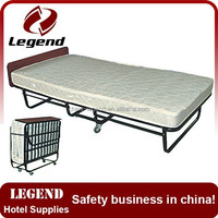Hot sale space saving foldable hotel add bed for guest room