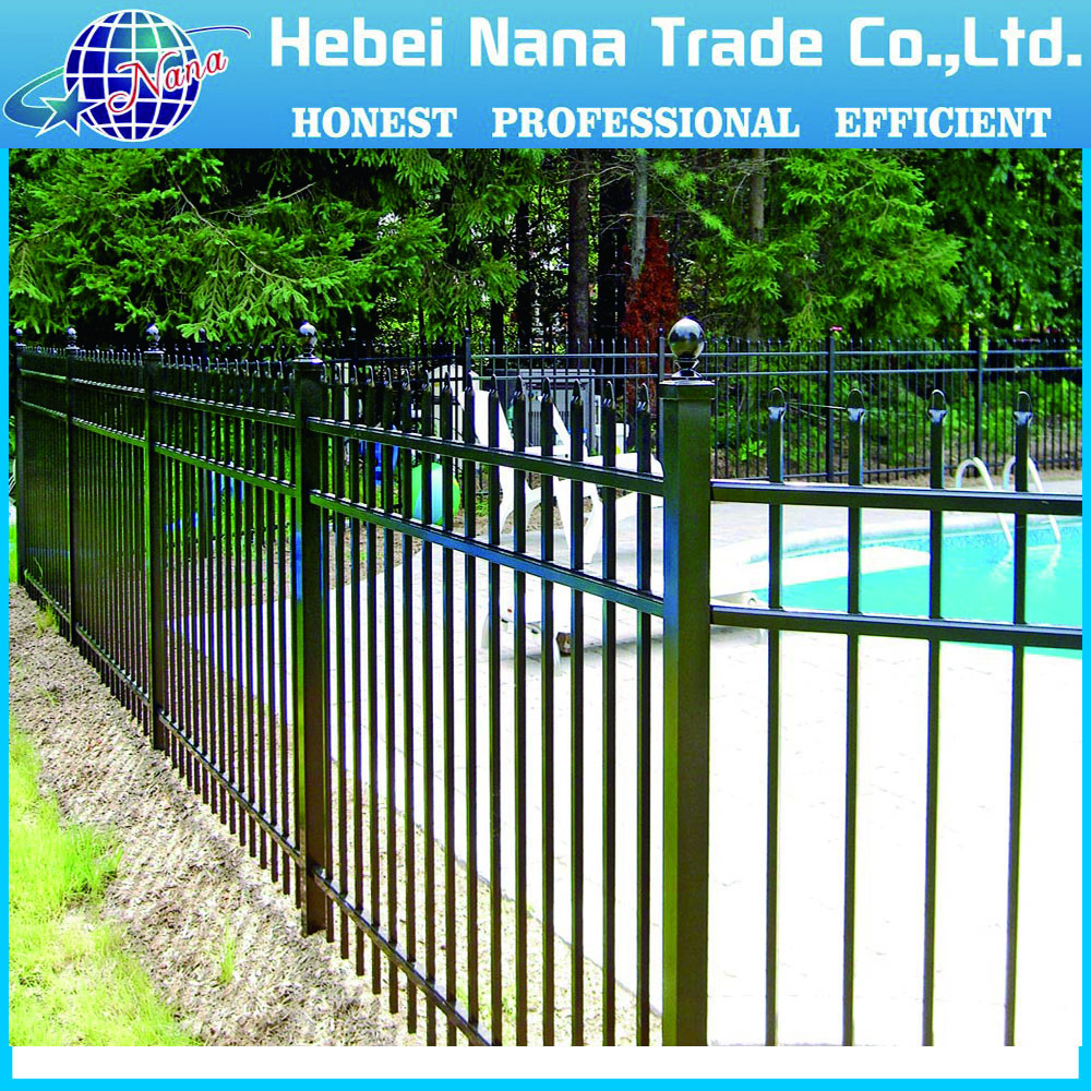 Eastern Ornamental Fence / Backyard security fence / Aluminum fence panel