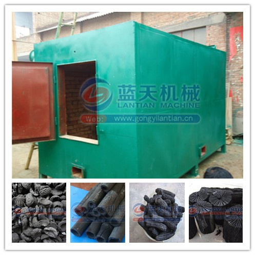 High output good quality carbonization oven charcoal carbonization stove