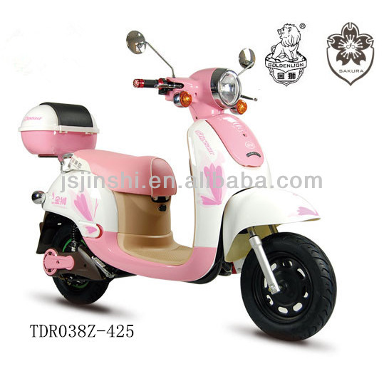 ladies lovely 48v 800w pink motor scooter