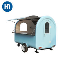 Best serve outdoor customized Motorcycle tricycle food cart for sale