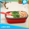 Non-toxic silicone material chinese 800 ml food containers
