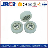 High quality nylon 30mm wheel with bearing for suitcase