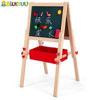 Kids Height Adjustable Wooden Tabletop Easel