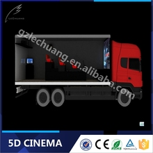 Newest Technology Business Investments Mobile 5D Cinema with Cabin On Truck