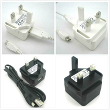 2014 new porduct 5.0V1.0A (1000mA) uk travel adapter 5W ac adaptor for England