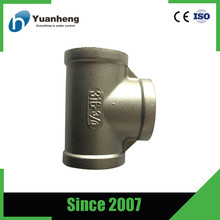 Class 150 Stainless Steel Female Threaded Reducing Tee