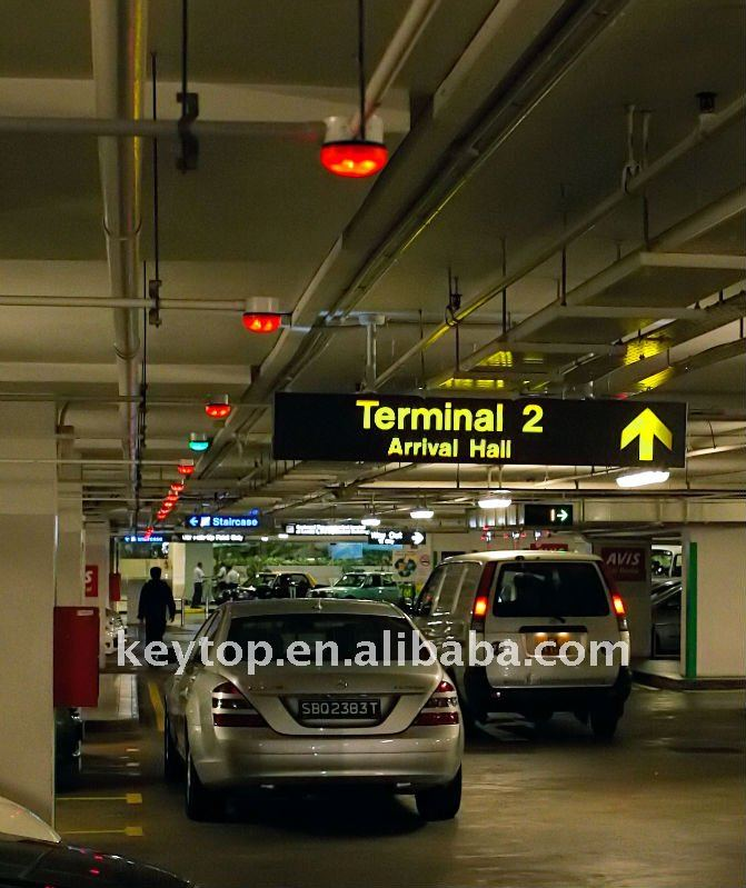 DC5V parking space led indicator green/red colors for parking guidance system