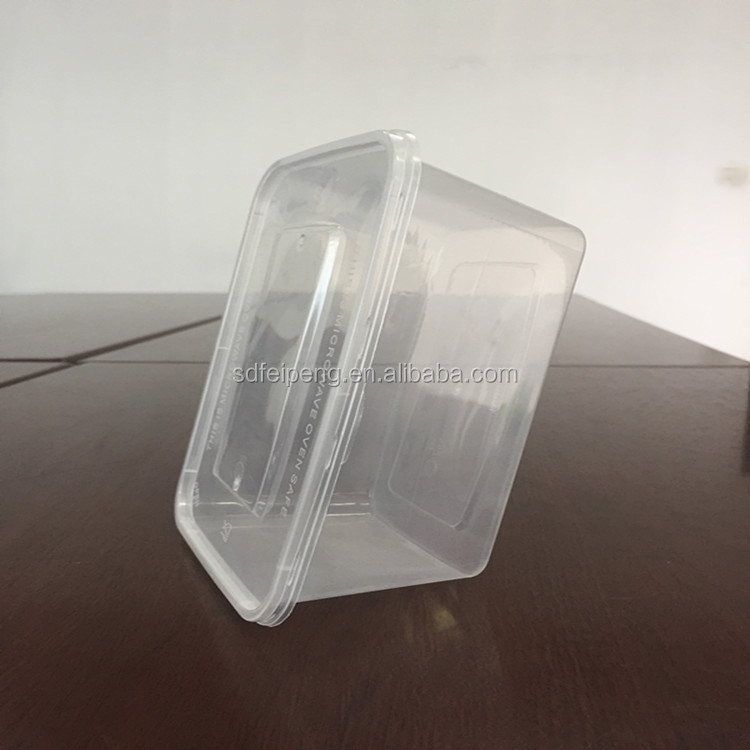 Disposable Transparent Clear Plastic Fruit Packaging Boxes