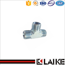 AC Carbon Steel Hydraulic Hose Male Tee Fittings