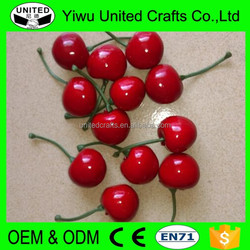 Artificial Faux Fruit Cherry For Stage