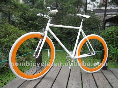 700C Kenda tire with white color frame <strong>specialized</strong> hot sale fixed gear bike