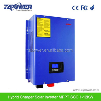 1KW~12KW with build in mppt controller solar hybrid inverter dc ac inverter solar hybrid inverter