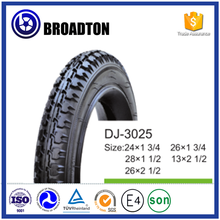 Road bicycle tyre and inner tube from manufacturer